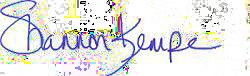 Shannon Signature Transparent