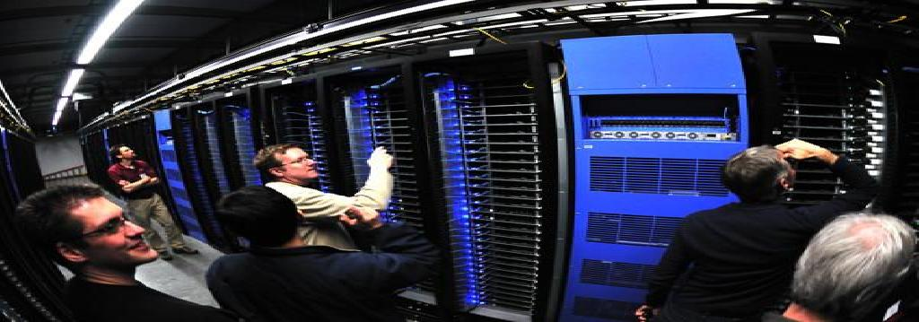 Intel Team Inside Facebook Data Center