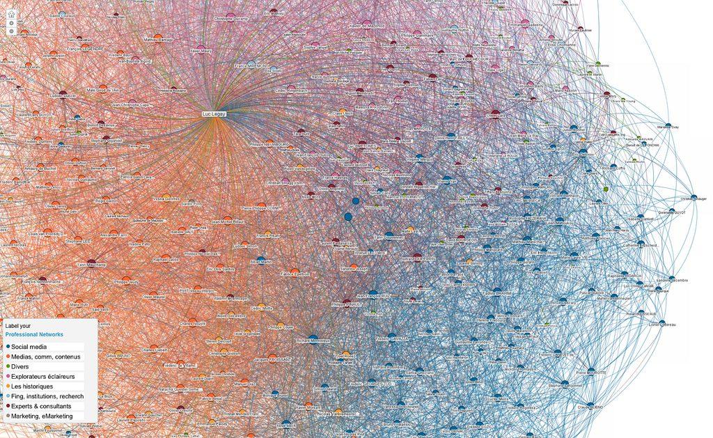 Linkedin maps data visualization