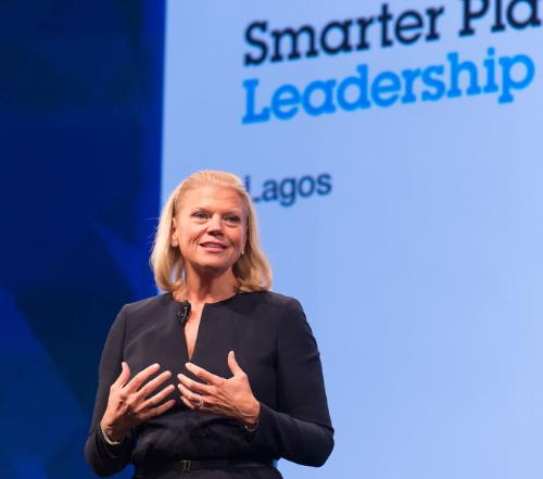 IBM GINNY ROMETTY ANNOUNCES IBM WILL BRING WATSON TECHNOLOGIES TO AF