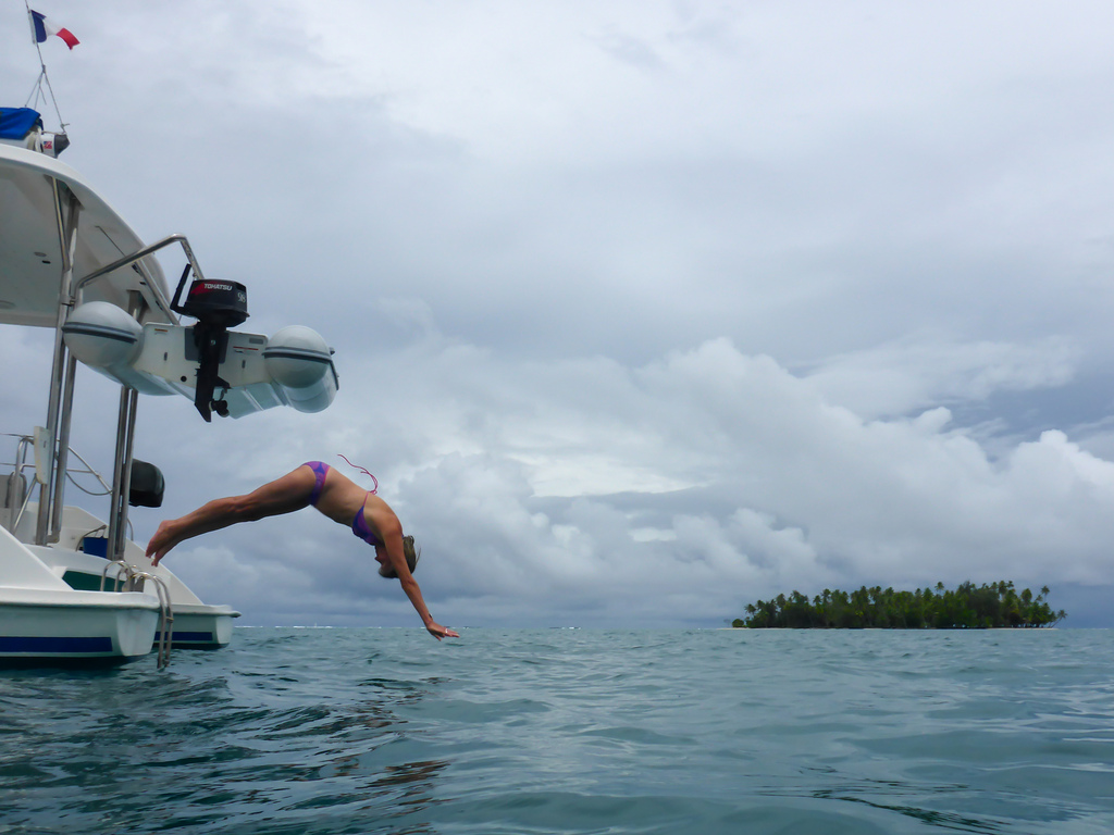 Diving in Taha'a, French Polynesia
