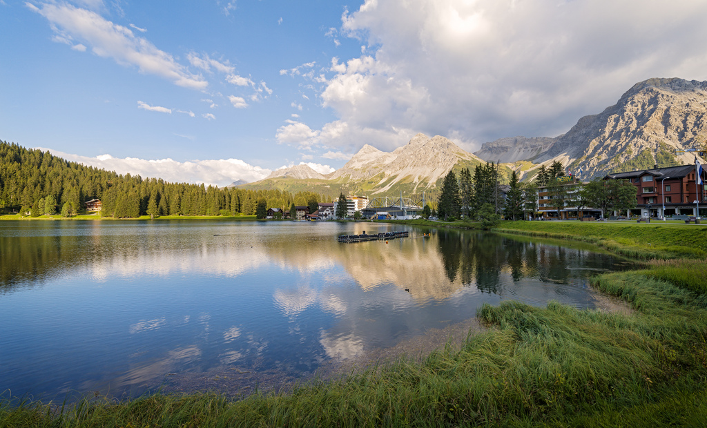 Arosa and its lake