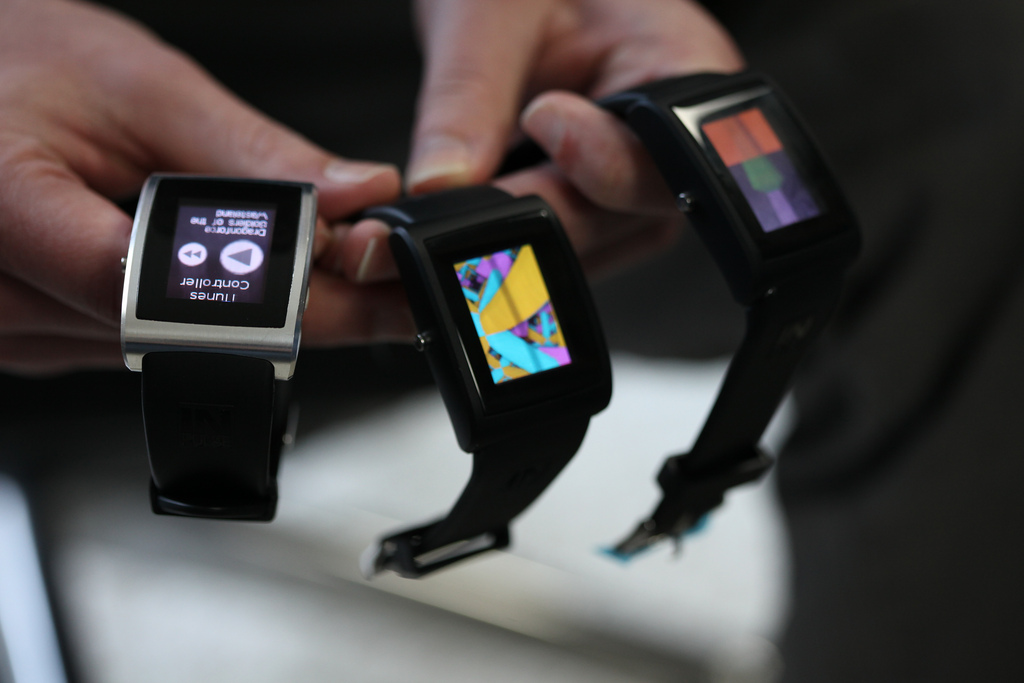 Hackable watch of the future!