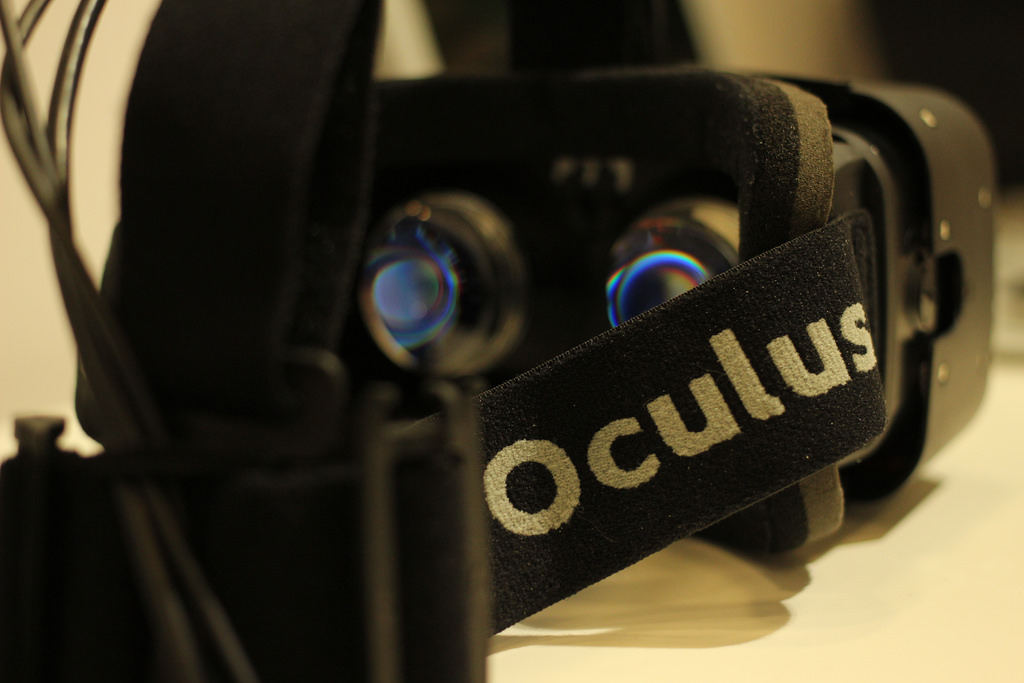 Oculus RIft Crystal Cove prototype