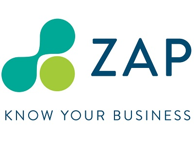 ZAP Logo with Tagline